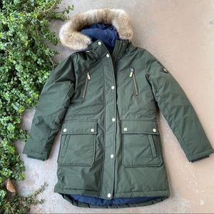 MICHAEL Michael Kors Ivy Green Down Puffer Coat